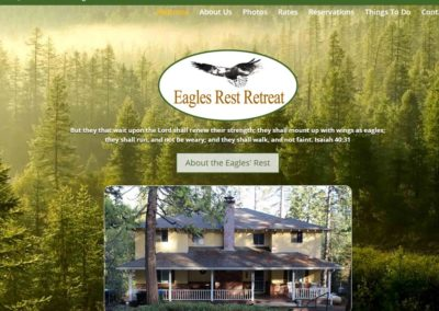 "Eagles Rest Retreat |  <a href=""http://www.eaglesrestretreat.org"" target=""_blank"" >Go To Site →</a>"